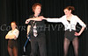 Gary VanVoorhis with dancers