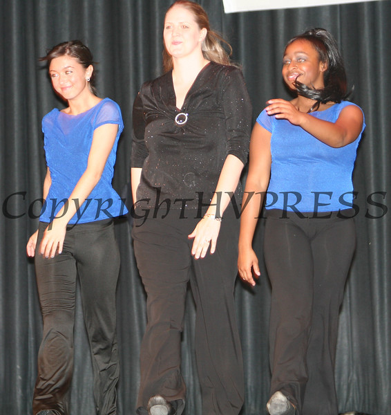 Mandy Clifford with the NFA Advanced Dance Company