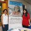 Maria Wachtel and Stephanie Mineo of the Kumon Newburgh Center