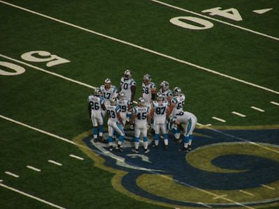 Hoover in the huddle