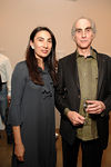 "Anh Duong & Sculptor Steven Gregory at the ""Bone Stone Bronze"" Inaugural Exhibition of the <br /> Nicholas Robinson Gallery in Chelsea"