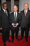 Ishmael Kamara, Mayor Michael Bloomberg and Nicholas Scoppetta
