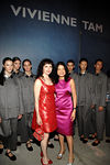Bebe Neuwirth, Vivienne Tam and Vivienne Tam models