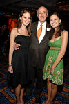 Carmine Calzonetti, President of Tuesday's Children and his twin daughters, Clair & Julia