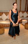 Gillian Hearst Shaw wearing Tiffany Koury