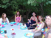 Sibyl, Sara, Mo, Prof Peanut, Dina & Michelle