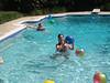 Jenn & Sibyl in the pool