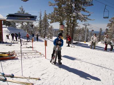 Skiing Holiday 2007