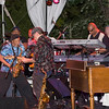 046 - Charles Neville and Makuni Fukuda with Aaron Neville, Willie Green, Michael Goods, David Johnson, and Art Neville - Red Butte Gardens - 13 Jul 07