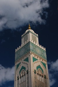 Tower of Hassan II Mosque - Kimberly Collins