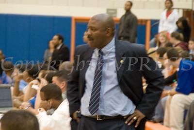 Hawks Head Coach Robert McMillian