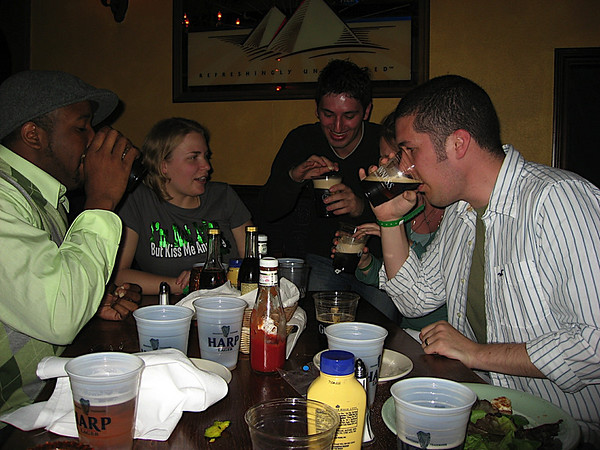 Irish car bombs are required on St. Patties day