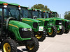 Wouldn't be  the State Fair without a tractor or two...