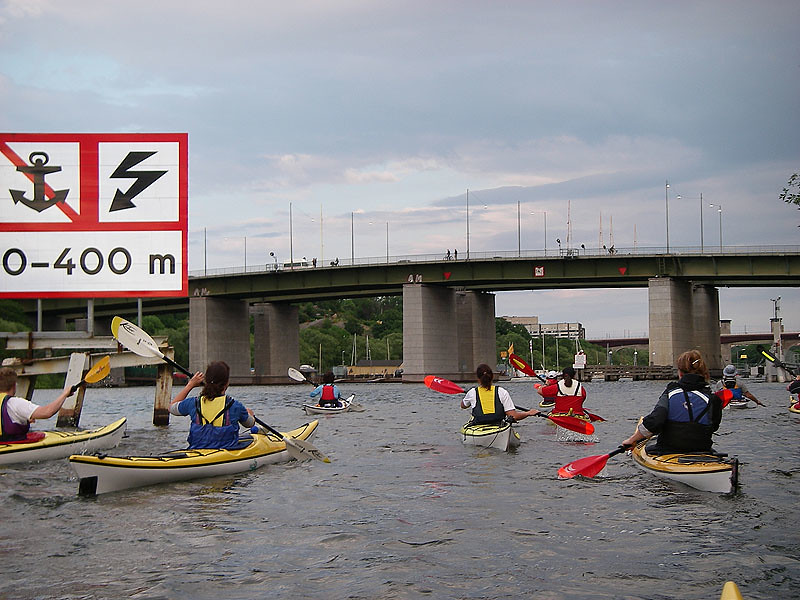 Det byggs på Stockholms broar...