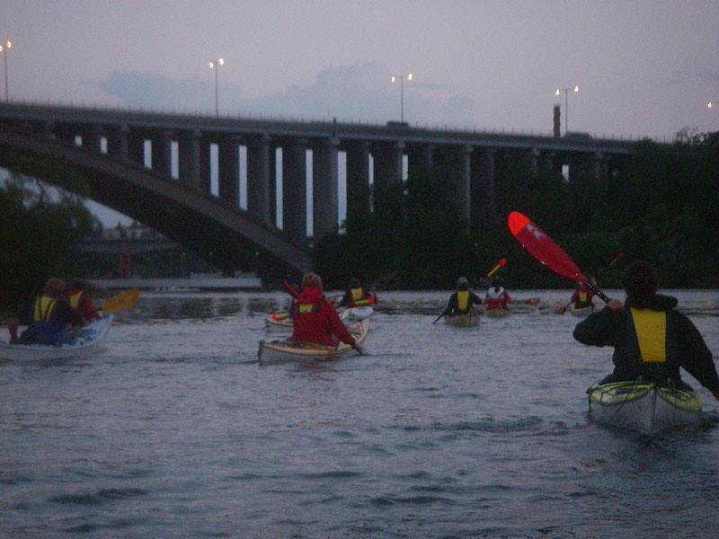 Kvällens avslutande bro.