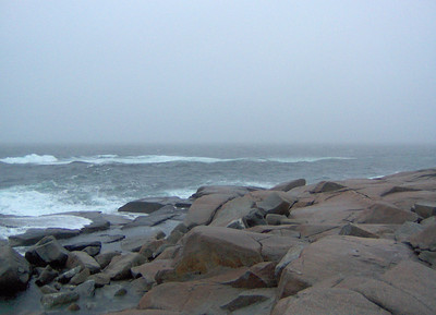 Peggys Cove Storm - November 2006