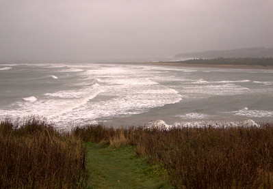 Tropical Storm Noel at Lawrencetown Beach
