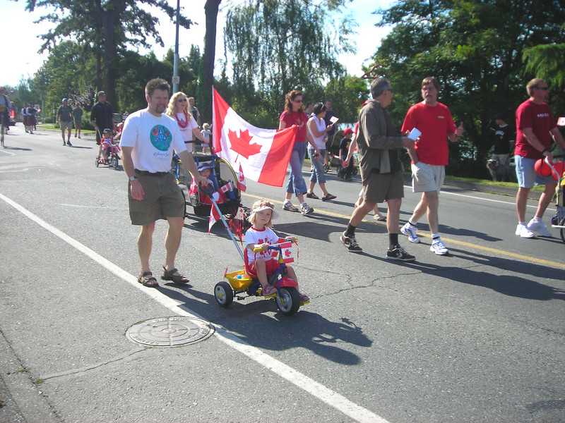 Canada Day Gorge Road Community Parade