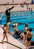 """Coach telling the girls to """"Go!"""""""