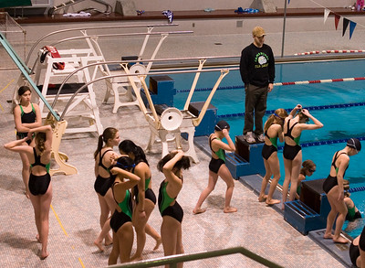 Swim Meet, February 2007