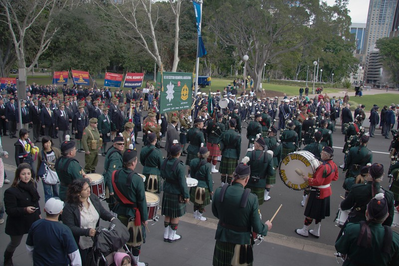 Reserve Forces Day parade, Sydney • College Street, Sydney: Sunday, 1st July 2007.
