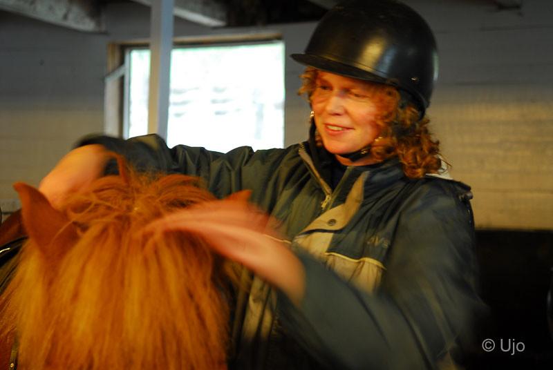 Cissi fick en häst vars man var färgmacthad med hennes...