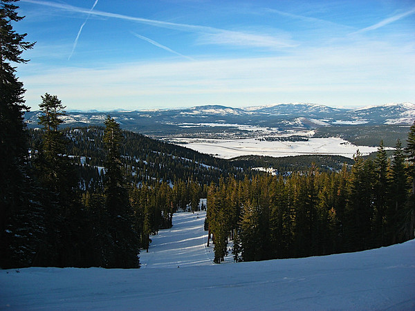 Tahoe from the top of Northstar