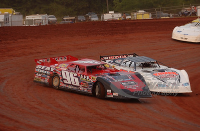 96 Terry English and 18 Brandon Kinzer