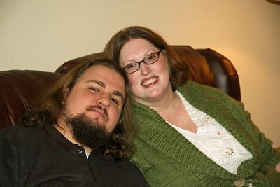 Thanksgiving 2007 - Spencer Jennifer engaged