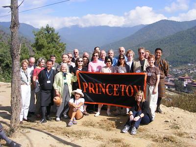 Princeton Group at Tashichhodzong - Mibs Mara