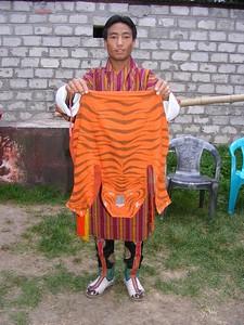 Folk Dance Tiger Costume - Mibs Mara