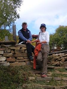 Robin & Meade Martin in Village of Shingkar - Mibs Mara
