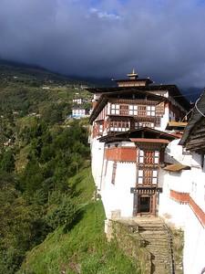 Trongsa Dzong - Mibs Mara