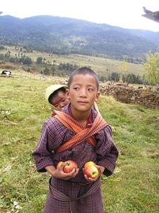 Siblings in Village of Shingkar - Mibs Mara