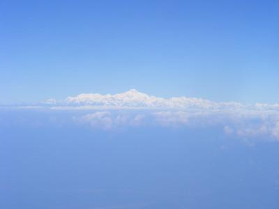 Druk Air View of Hymalayan Mountains - Mibs Mara