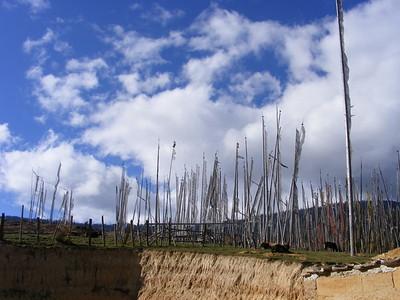 Prayer Flags in Ura - Mibs Mara