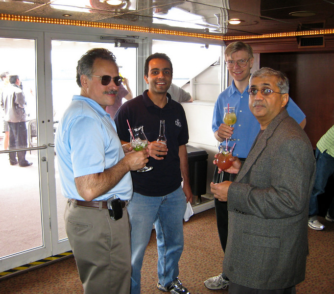 Bruce, Ihab, Dave, and Nagaraj.