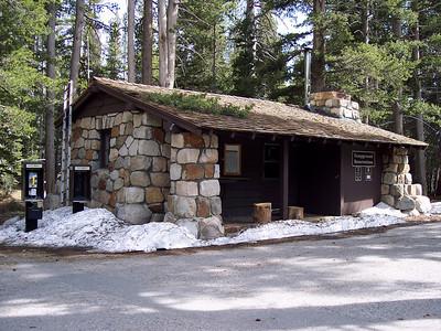 Tuolumne Campground reservation office.