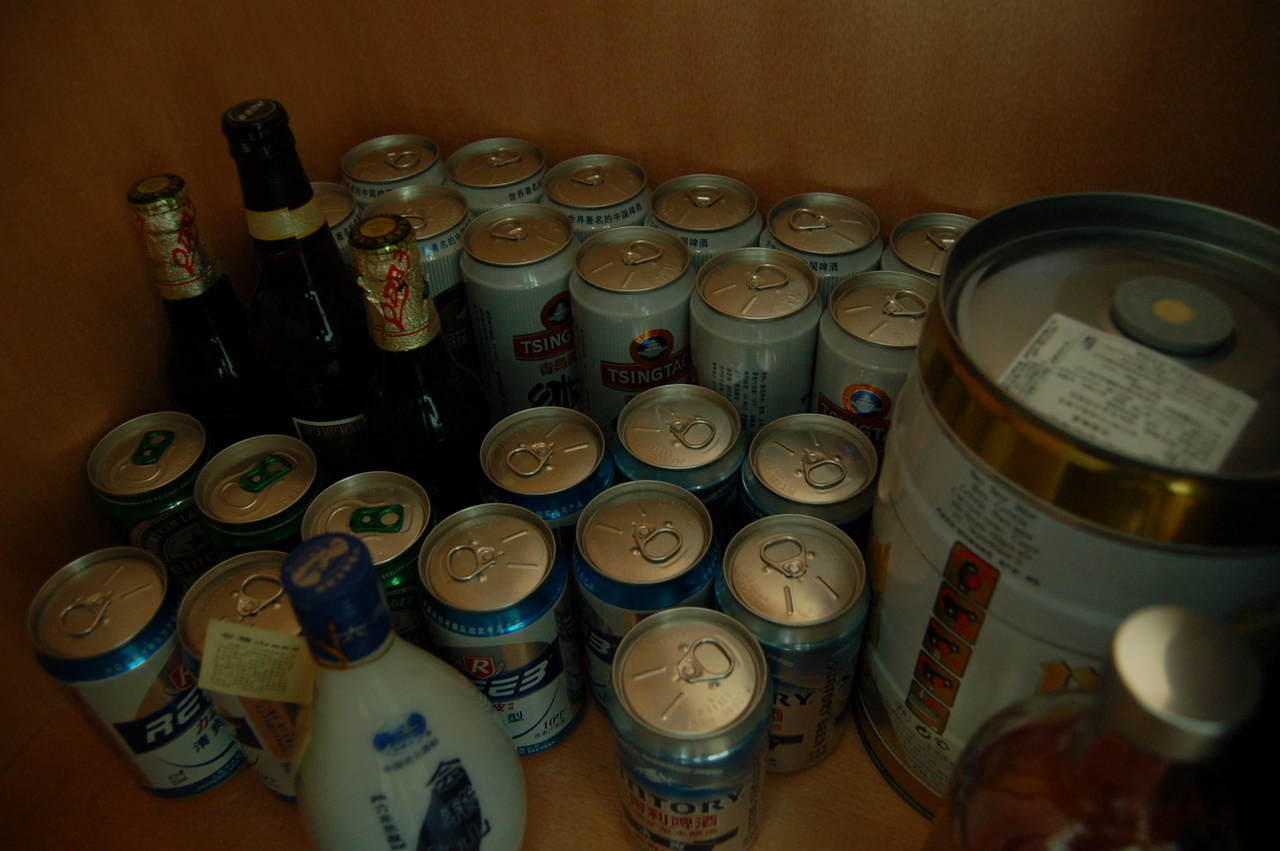 matt's secret beer stash