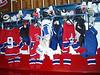a locker room - without sweaty, naked hockey guys
