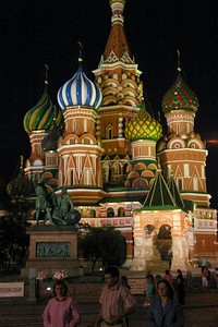 St. Basil's by Night - Al & Helen Wade