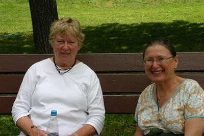 Anne Alvord and Helen - Al & Helen Wade