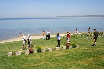 Anzac Cove in Gallipoli National Historic Park - Liz Greenberg