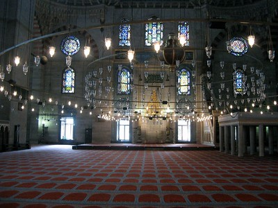 Mosque interior - John Zoeller