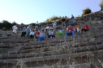 Assos Theater: Not a Bad Seat in the House - Liz Greenberg