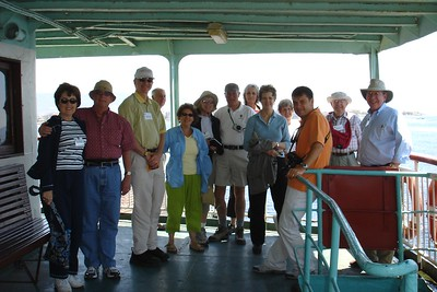 Enjoying the Ferry Ride across the Dardanelles - Liz Greenberg