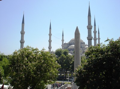 View of Sultanahmet (Blue) Mosque from Islamic Art Museum - Liz Greenberg