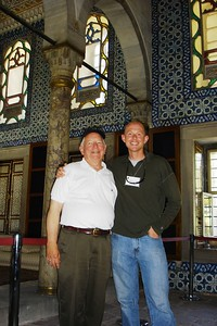 Will and Jon Rivinus in Topkapi Palace - Liz Greenberg