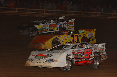 6T Tim Dohm, 77 Scott Peltz and 1x1 Sonny Conley