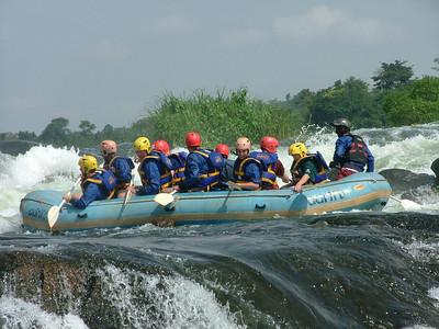 Uganda Nile River Raft